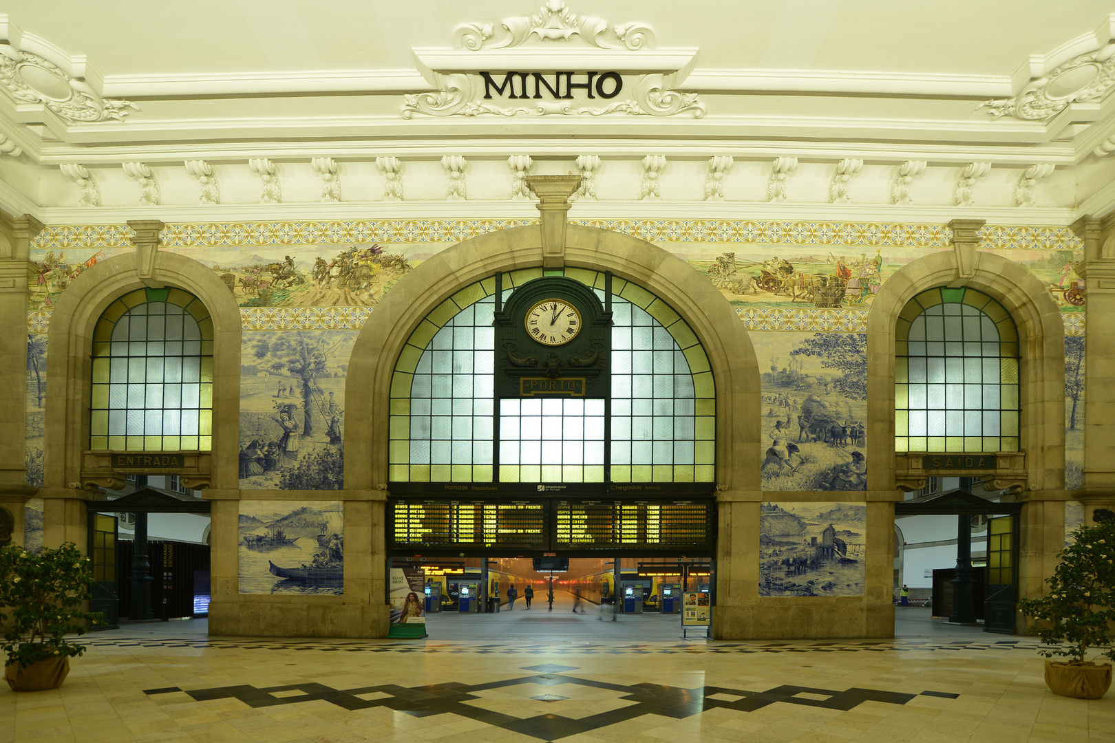 Bahnhof Sao Bento - Porto