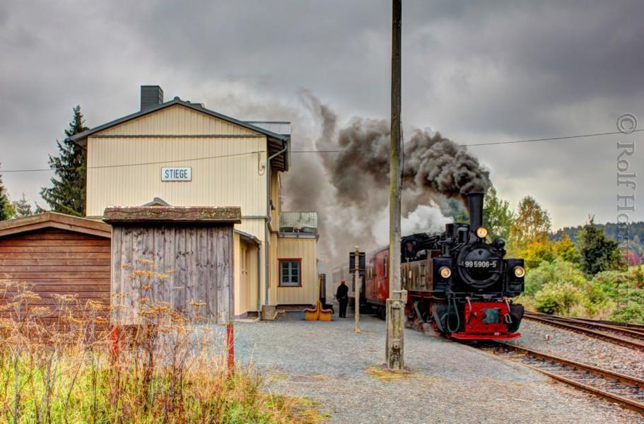 Bahnhof Stiege ( Harz)