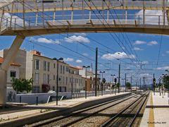 Bahnhof Tunes mit Gleisen