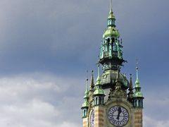 Bahnhof - Uhr (Gdansk)