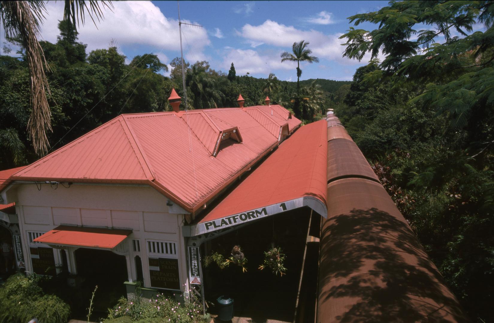 Bahnhof von Kuranda (1998-01)