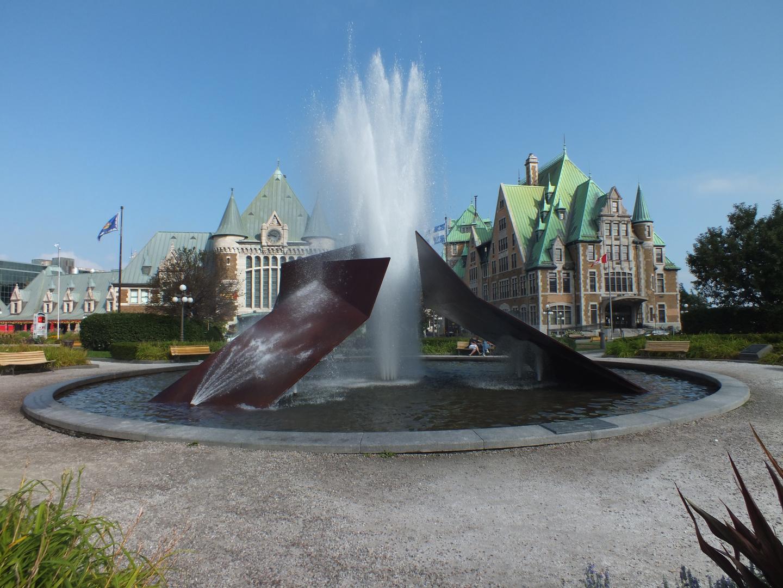 Bahnhof von Quebec City