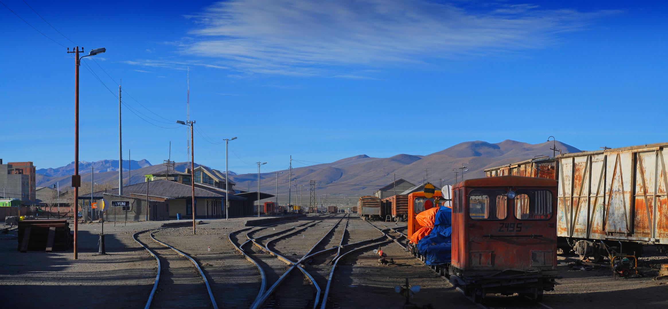 Bahnhof von Uyuni