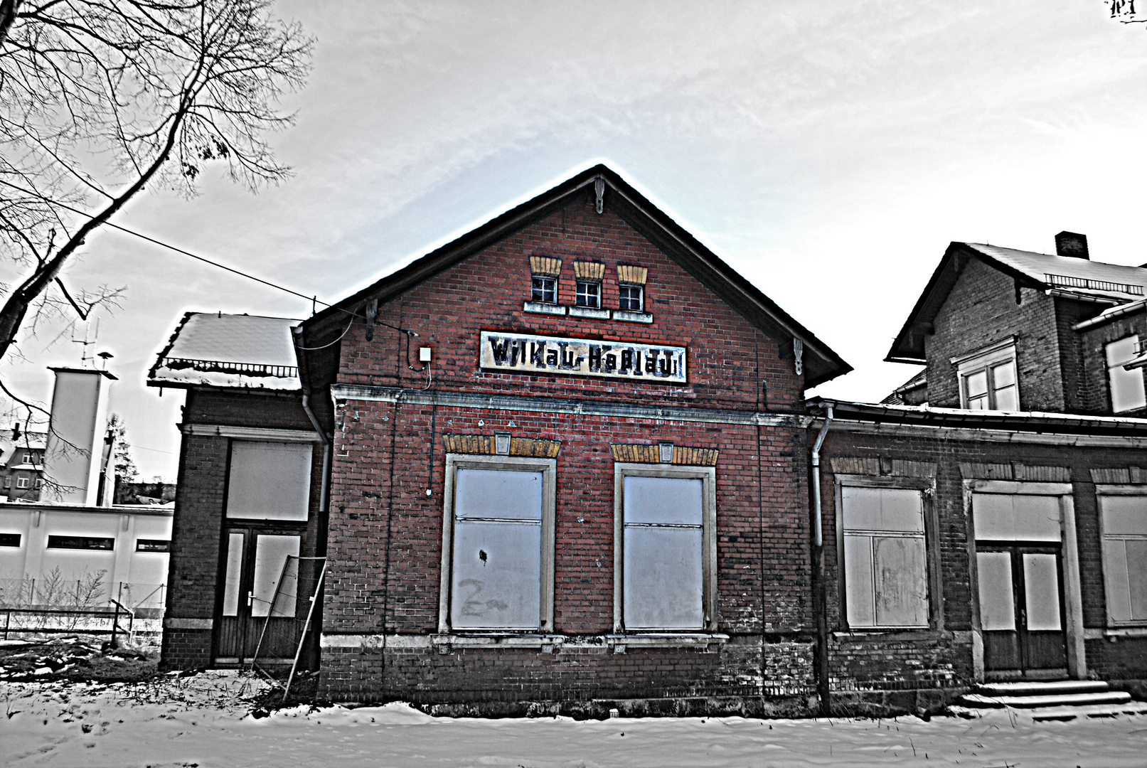 Bahnhof Wilkau-Haßlau