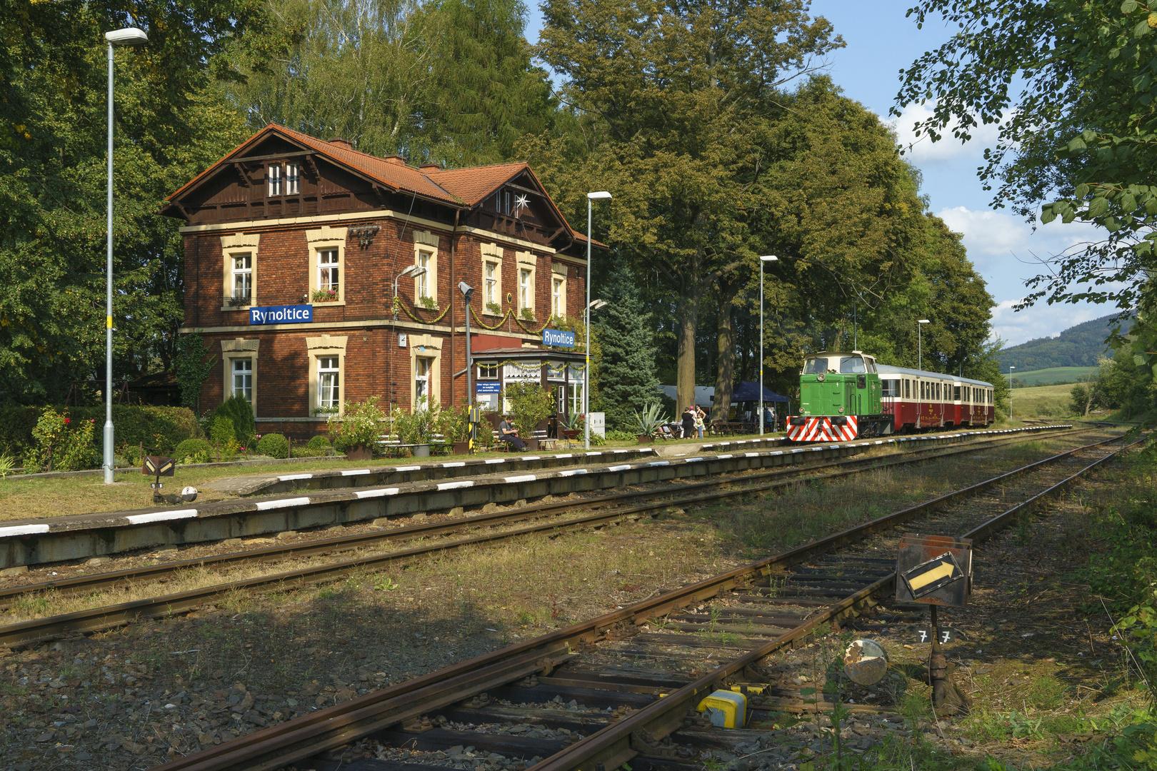 Bahnhofsfest in Rynoltice