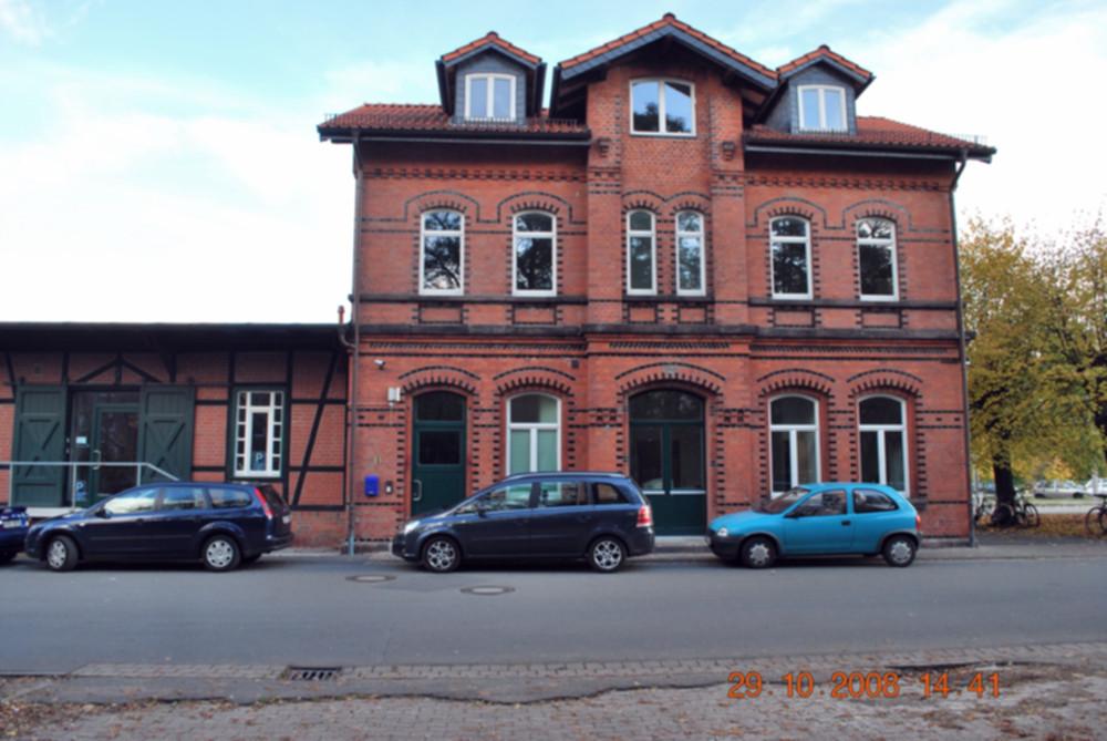 Bahnhofsgebäude in Mellendorf