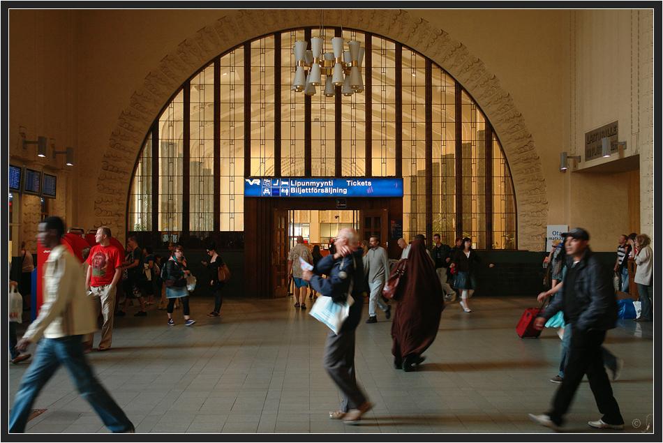 Bahnhofshalle zu Helsinki