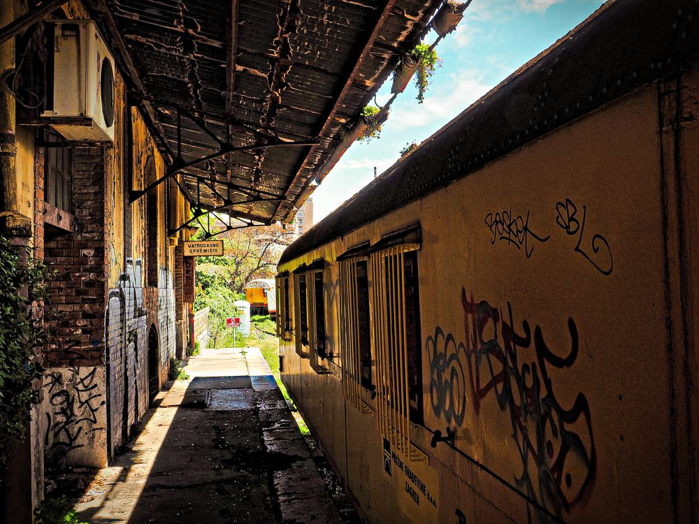 Bahnhofsidylle