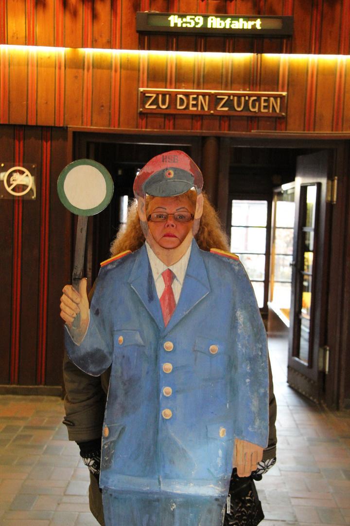 Bahnhofsvorsteherin Wernigerode