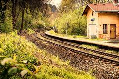 Bahnstation Holyne