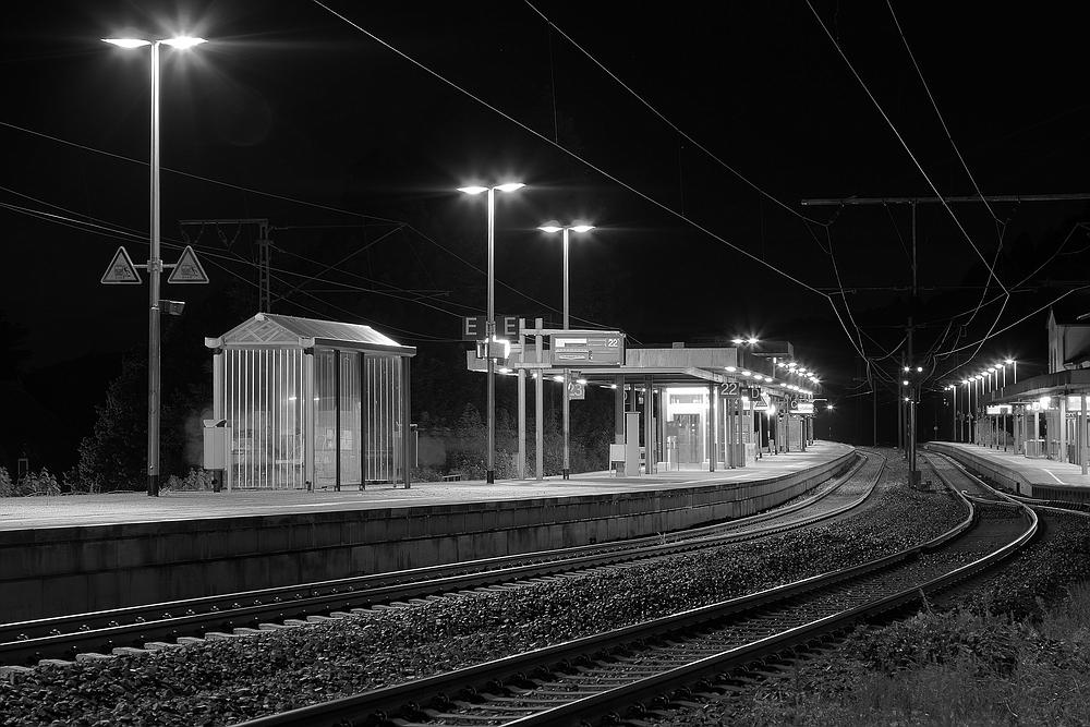 Bahnsteig 22