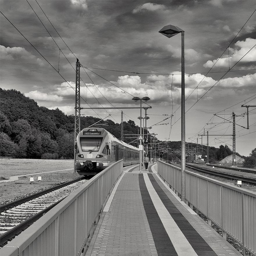 Bahnsteig Lietzow