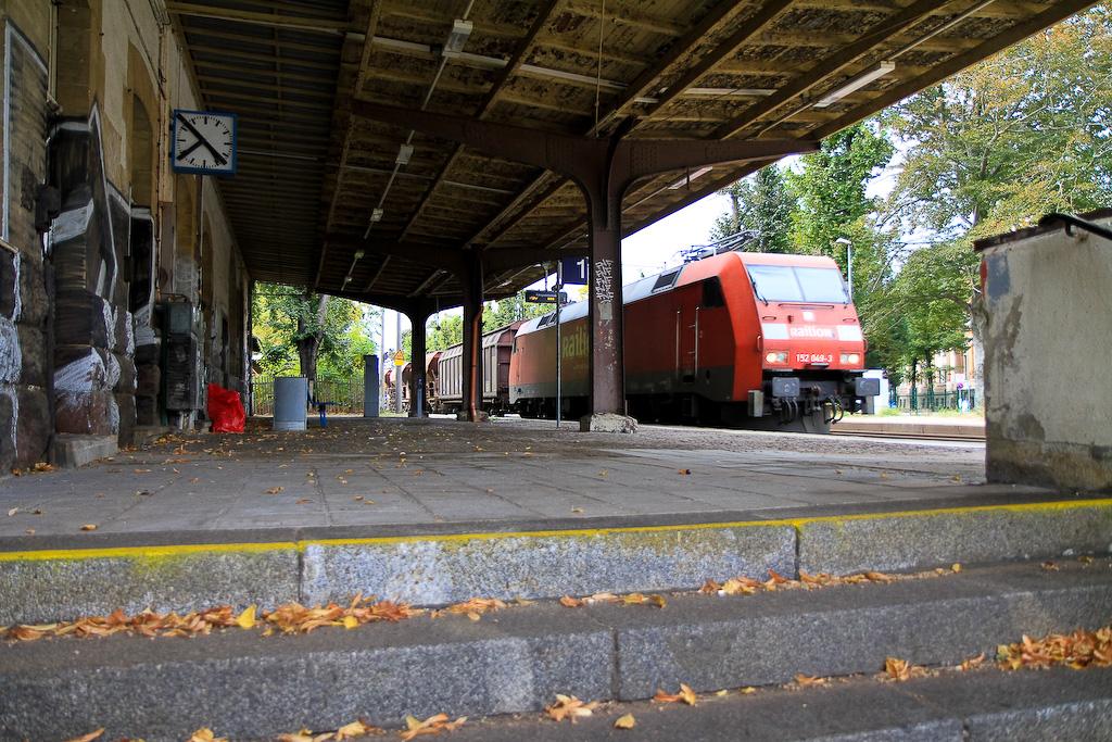 Bahnsteig Miltitz