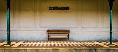 Bahnsteig Schönbrunn