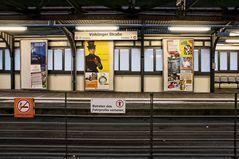 Bahnsteig Völklinger Straße