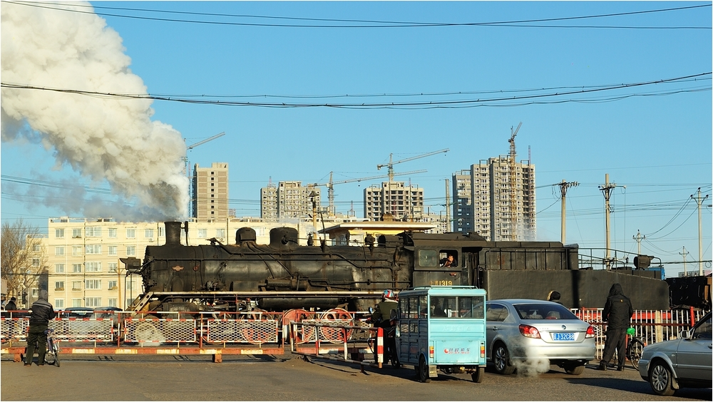Bahnübergänge in Fuxin IX - Die Immobilienblase