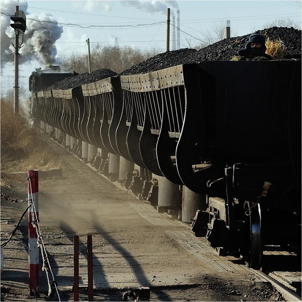 Bahnübergänge in Fuxin V - Der Zugführer