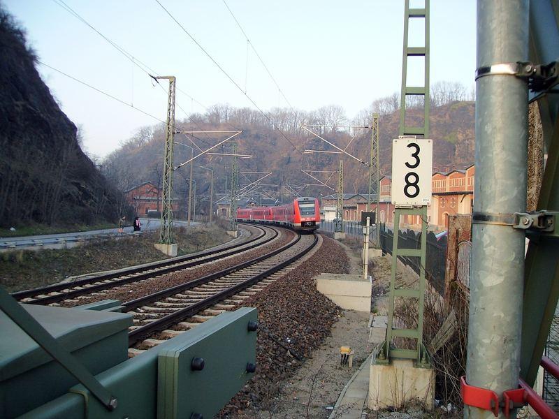 Bahnübergang Felsenkeller Dresden