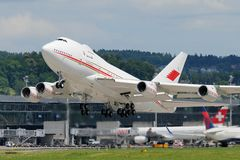 Bahrain Amiri Flight Boeing 747SP-Z5 A9C-HAK