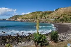 Baia Praia bei Aqua´Alto mit Sicht auf Riberia Cha