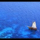 Baignade en mer turquoise