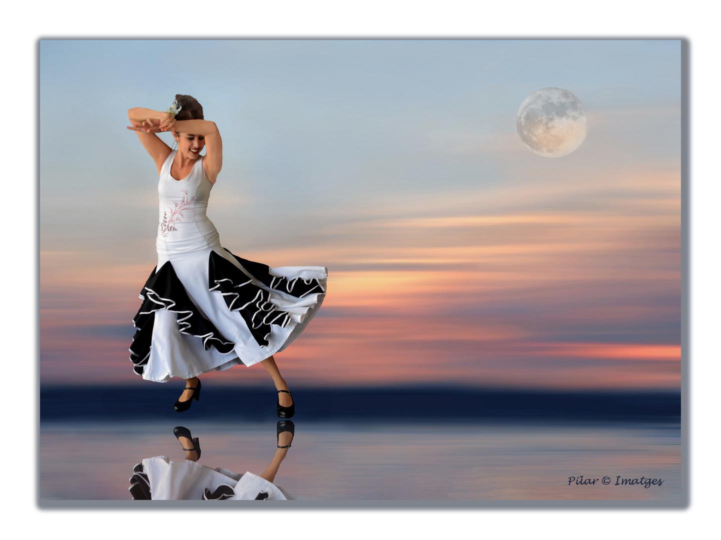 Bailando con la luna