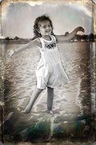 Bailando en la arena
