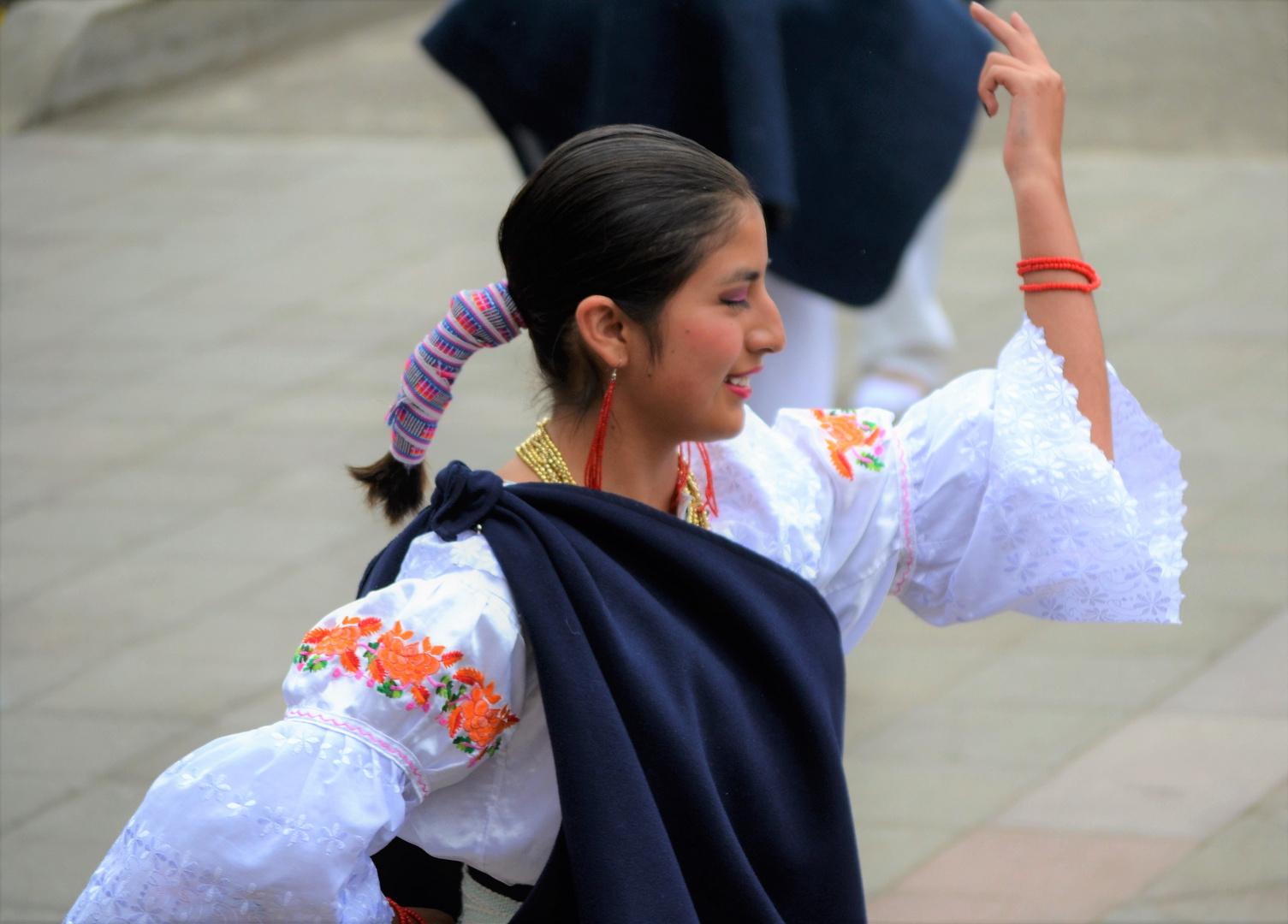 Bailarina  de Quito