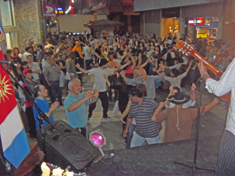 baile en la calle florida