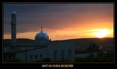 Bait-ul-Huda Moschee in Usingen