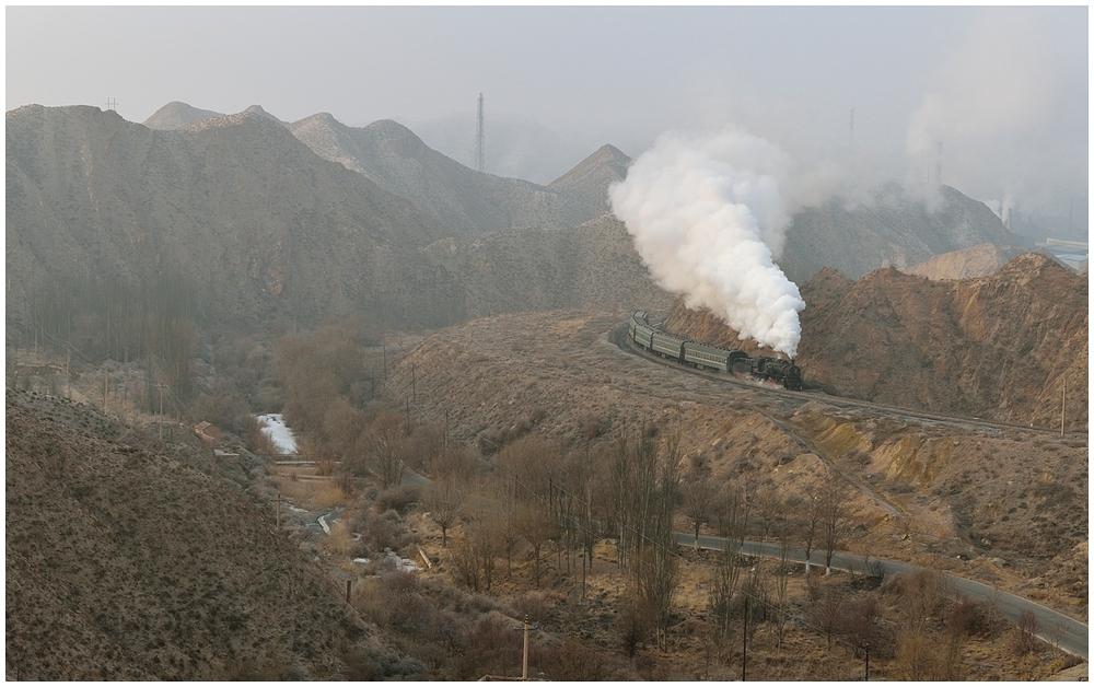 Baiyin 2013 - XVIII - Die zweite morgendliche Bergfahrt