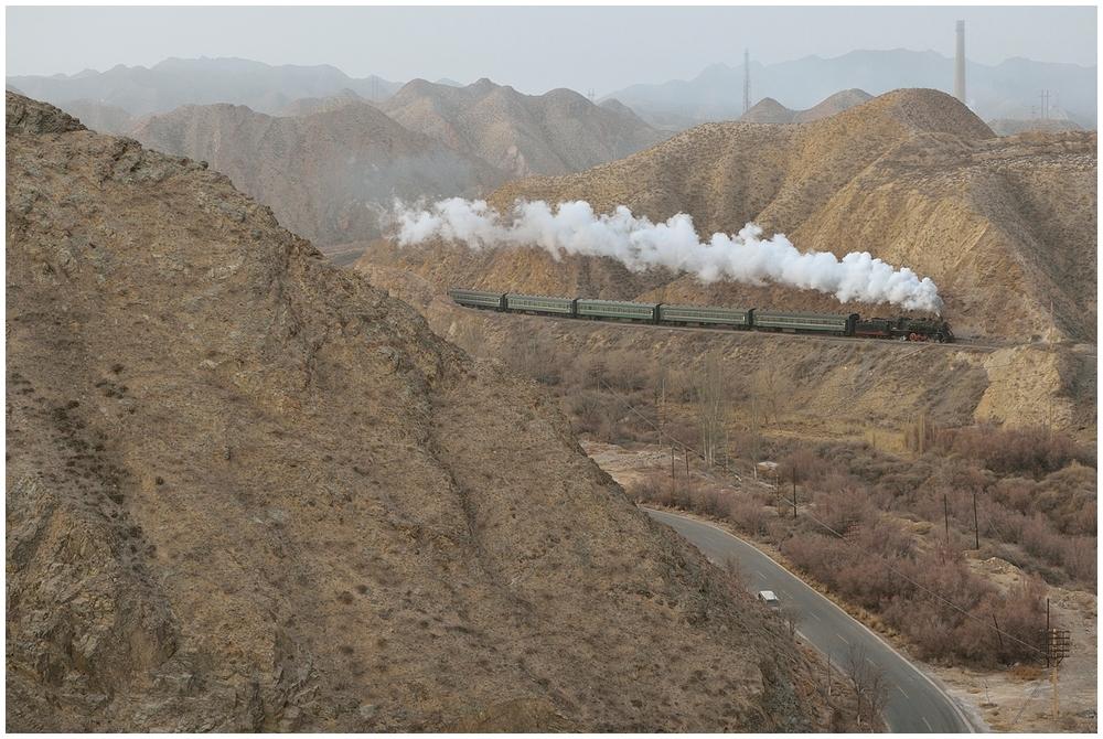 Baiyin 2013 - XXXVIII - Die vierte morgendliche Bergfahrt