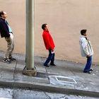 Bajando una calle de San Francisco (pendiente de 10º!