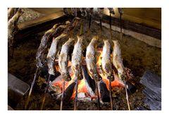 Baked fireside