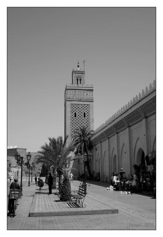 Balade à Marrakech