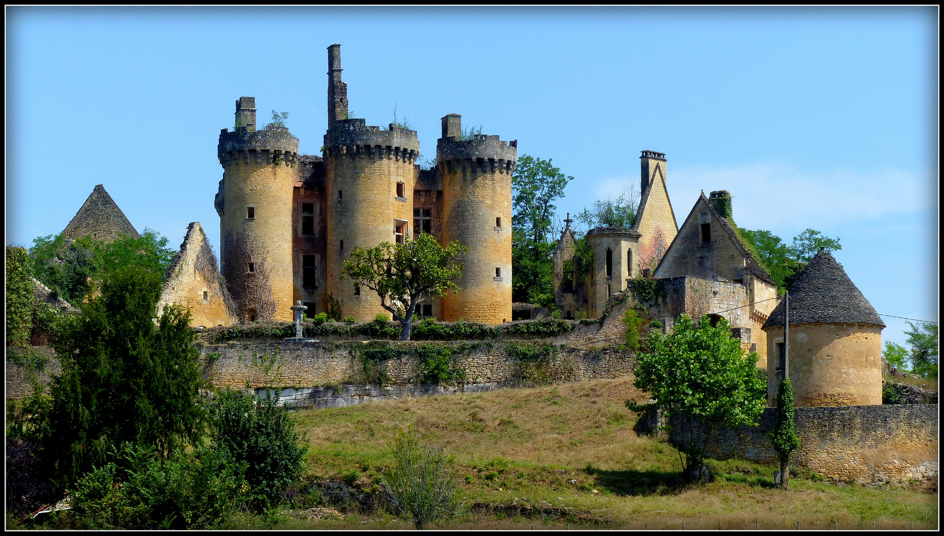 Balade en Limousin  - 07-2019 - Château de Paluel