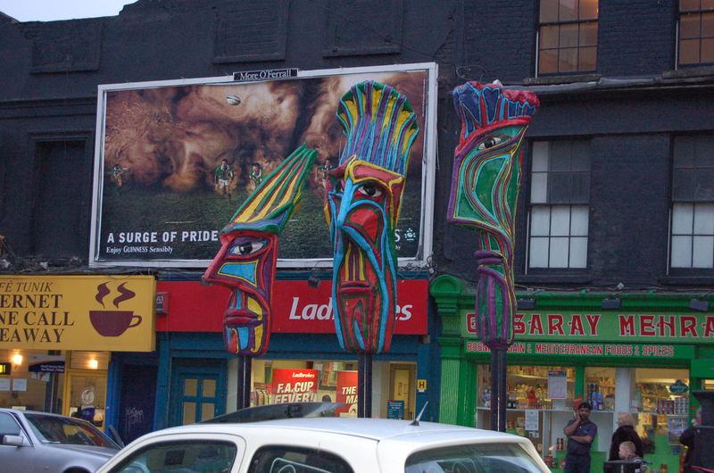 balades dans les rues de Dublin