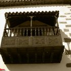 Balcone in legno