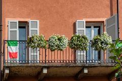 Balcone in piazza Cavour, Vercelli