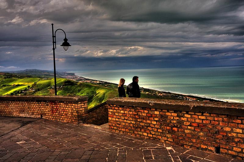 Balcone sul mare(hdr)