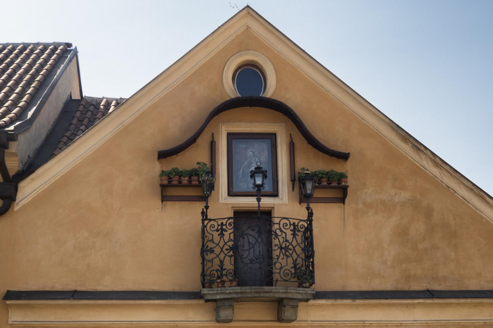 Balcone sulla Moldava, Praga