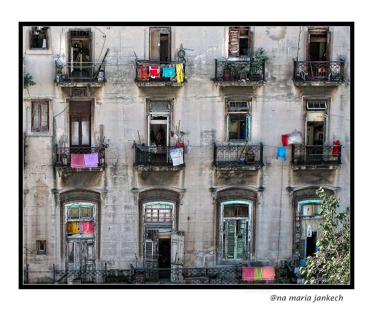 Balcones cubanos-