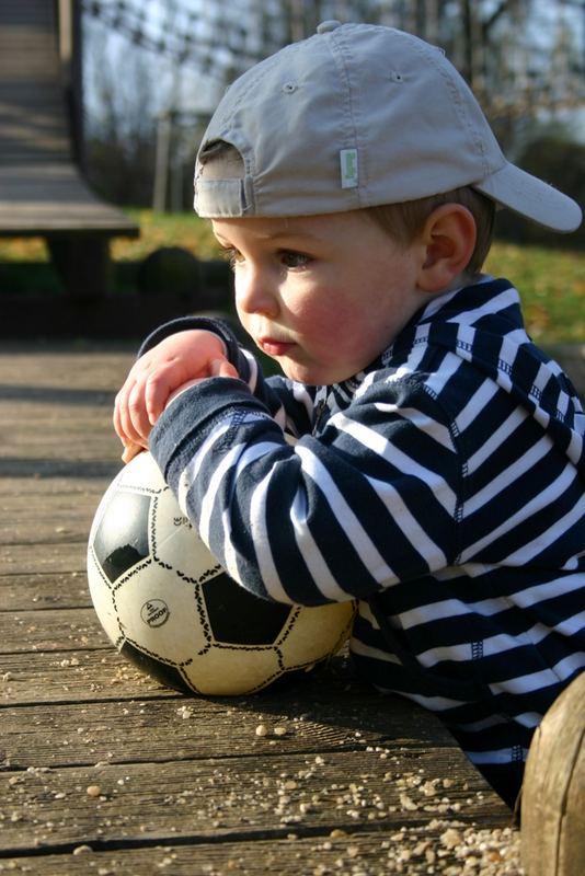 Bald bin ich ein Fussballstar