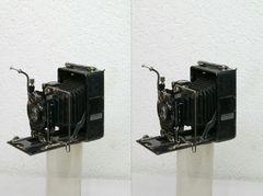 Balgenkamera 3D (Parallelblick)