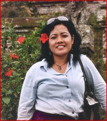 Bali girl Santi