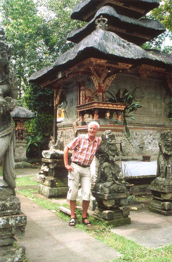 Bali- Tempel bei Ubud