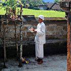 Balinais en prière