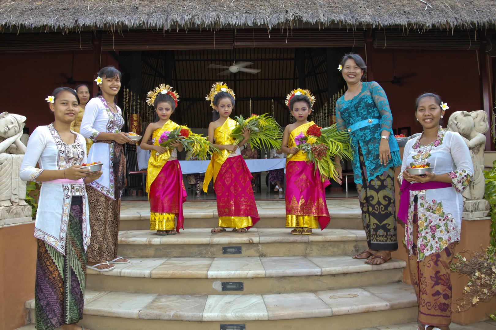 Balinesische Hochzeitszeremonie (1)
