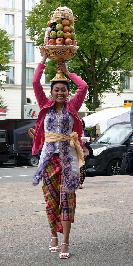 Balinesisches Tempelfest #1