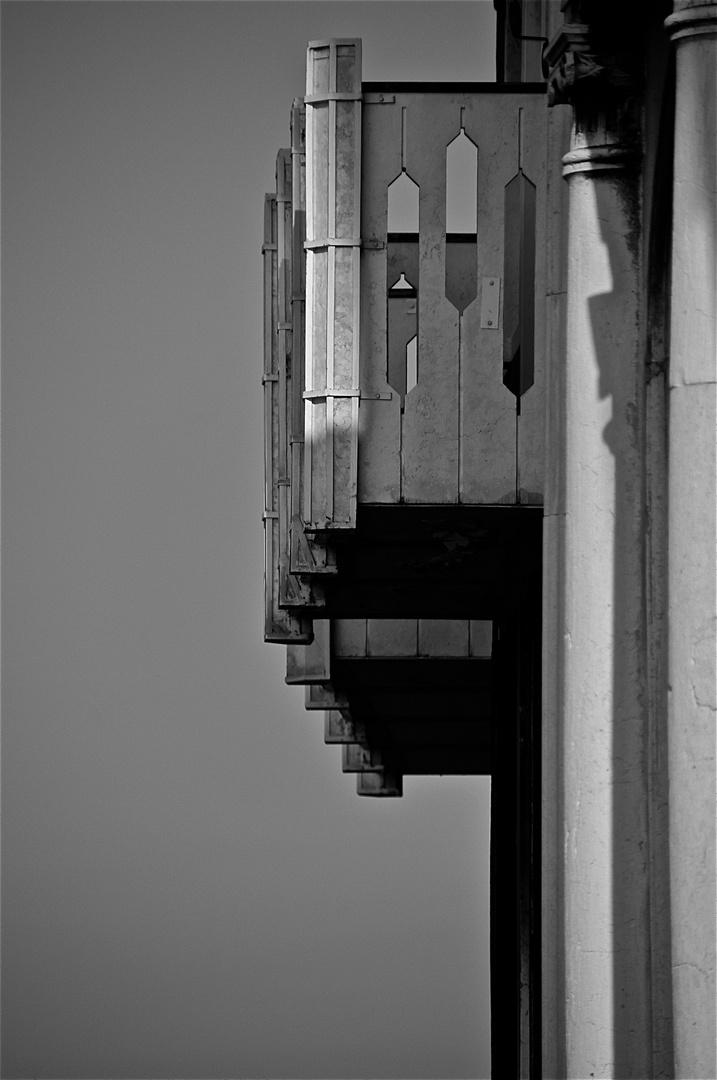 balkon am zattere, venedig im august 2011